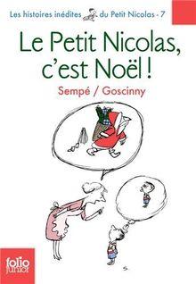 Le Petit Nicolas c'est Noel (Folio Junior)