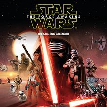 The Official Star Wars Episode 7 Movie 2016 Square Calendar (Calendar 2016)