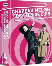 Chapeau melon et bottes de cuir : The Avengers, Vol.4 - Coffret 8 DVD [FR IMPORT]