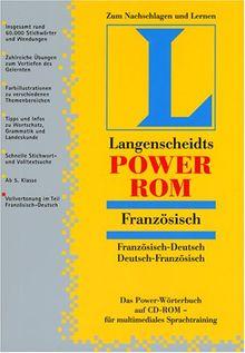 Langenscheidts PowerROM Französisch