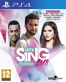 Let's Sing 2018 Hits Français et Internationaux Jeu PS4