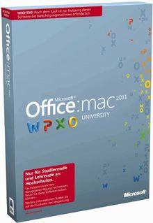 Microsoft Office Mac University 2011 - Berechtigungsnachweis erforderlich