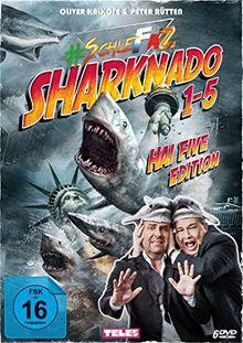 #SchleFaZ - Sharknado 1-5 Hai Five Edition [5 DVDs]