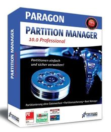 Paragon Partition Manager 10 Professional Edition