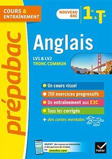Anglais 1re/Tle (tronc commun) - Prépabac Cours & entraînement: nouveau programme, nouveau bac (2020-2021) (Prépabac (26))