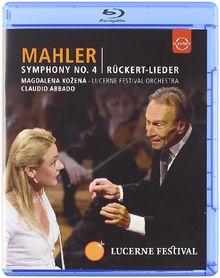 Gustav Mahler - Symphony No. 4/Rückert-Lieder [Blu-ray]