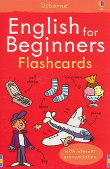 English for Beginners Flashcards: With Internet Pronunciation (Language Guides)