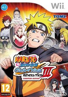 NINTENDO Naruto Shippuden - Clash of Ninja Revolution 3 [WII]