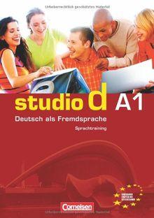 studio d - Grundstufe: A1: Gesamtband - Sprachtraining: Deutsch als Fremdsprache