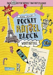 Wort-Rätsel: 100% Rätselspaß für deine Tasche (Pocket-Rätsel-Block)