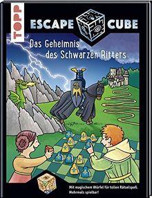 Escape Cube Kids Das Geheimnis des Schwarzen Ritters: Das Escape-Abenteuer für Kinder mit dem Zauberwürfel