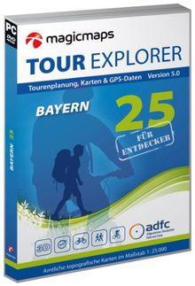 Tour Explorer 25 Deutschland - Bayern, Version 5.0