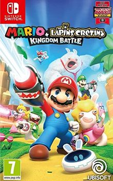 Mario + The Lapins Crétins Kingdom Battle Jeu Switch