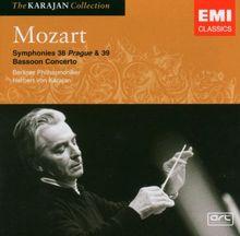Mozart: Sinfonie 38+39/Fagottkonz.