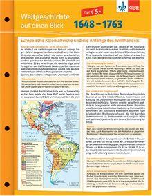 Weltgeschichte auf einen Blick. 1648 - 1763