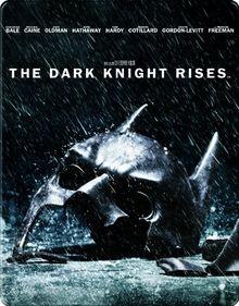 The Dark Knight Rises Steelbook (exklusiv bei Amazon.de) (2 Discs) [Blu-ray]