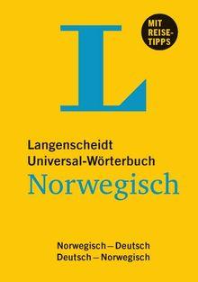 Langenscheidt Universal-Wörterbuch Norwegisch - mit Tipps für die Reise: Deutsch-Norwegisch/Norwegisch-Deutsch (Langenscheidt Universal-Wörterbücher)
