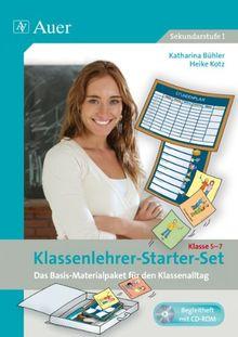 Klassenlehrer-Starterset, Klasse 5-7