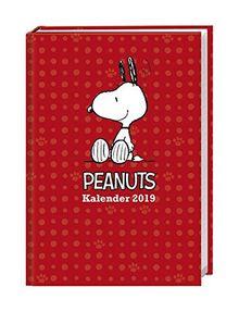 Peanuts Schülerkalender A6 - Kalender 2019: 17 Monate. Von August 2018 bis Dezember 2019.
