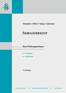 Familienrecht (Skripten - Zivilrecht)