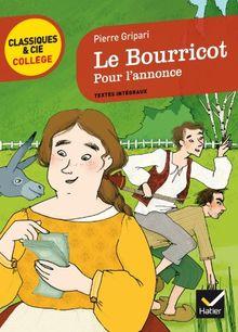 Le Bourricot. Pour L'annonce