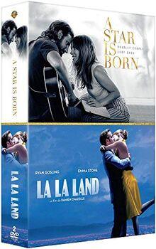 Coffret romance musicale 2 films : a star is born ; la la land [FR Import]