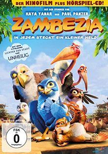 Zambezia - In jedem steckt ein kleiner Held! (+ Audio-CD) [2 DVDs]