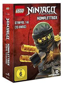 Lego Ninjago Komplettbox - Staffel 1-6 [13 DVDs]