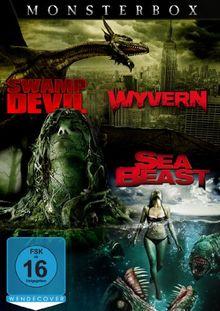 Monsterbox: Wyvern - Sea Beast - Swamp Devil [3 DVDs]