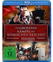 Die größten Kämpfe des Römischen Reiches - Der Untergang des Römischen Reiches - Julius Caesar - Barabbas [Blu-ray]