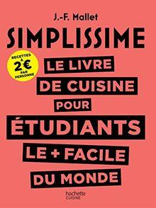 Le livre de cuisine pour étudiants le plus facile du monde