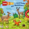 Zieh 2-mal: ... und finde die Waldtiere