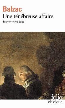 Une ténébreuse affaire (Folio (Gallimard))