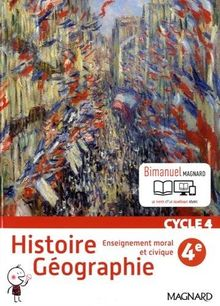 Histoire géographie, enseignement moral et civique 4e Cycle 4