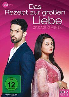 Das Rezept zur großen Liebe - Zindagi Ki Mehek (Box 2) (Folge 21-40) [3 DVDs]