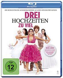 Drei Hochzeiten zu viel [Blu-ray]