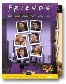 Friends - L'Intégrale Saison 4 - Édition 4 DVD [FR Import]
