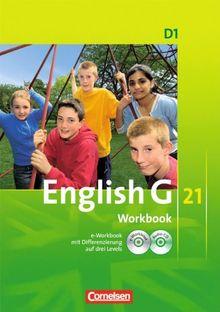 English G 21 - Ausgabe D: Band 1: 5. Schuljahr - Workbook mit CD-ROM (e-Workbook) und CD