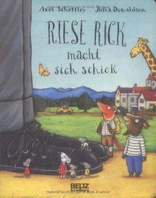 Riese Rick macht sich schick: Vierfarbiges Pappbilderbuch