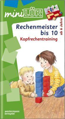 miniLÜK: Rechenmeister bis 10: Kopfrechentraining ab Klasse 1