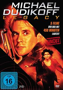 Michael Dudikoff Legacy (Uncut) : Moving Targets - Executive Command - Crash Dive - Bounty Hunters 1&2 [2 DVDs]