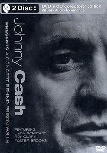 Johnny Cash - Presents a Concert Behind Prison Walls (+ Audio-CD) [Collector's Edition] [2 DVDs]
