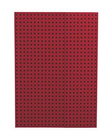 Red on Black Journal: Unlined B5 (Quadro)