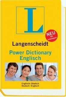Langenscheidt Power Dictionary Englisch: Englisch - Deutsch / Deutsch - Englisch
