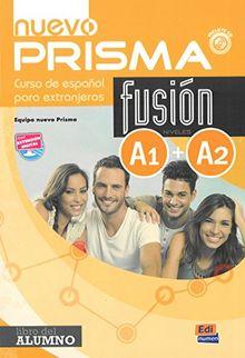 nuevo Prisma Fusión A1+A2 Alumno + CD: Curso de Espanol para Extranjeros