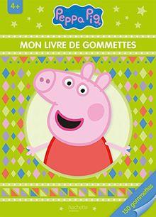 Mon livre de gommettes Peppa Pig : 150 gommettes