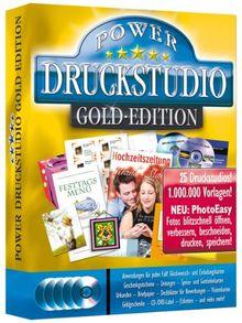 Das große Power Druckstudio Gold-Edition