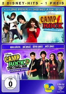 Camp Rock / Camp Rock 2 [2 DVDs]