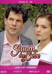 Sturm der Liebe 3 - Folge 21-30: Liebe und Vernunft (3 DVDs)