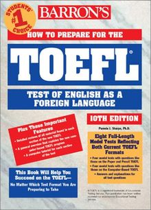 How to Prepare for the TOEFL Test (Barron's TOEFL IBT)